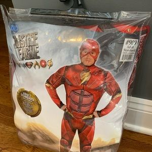 Justice League Adult Standard The Flash Costume DC
